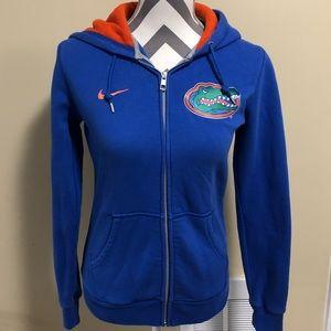 Nike Florida Gators Women's M Zip Up Hoodie Jacket